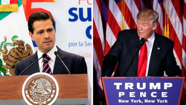 """Peña Nieto dialoga con Trump e inician """"nuevo capítulo"""""""