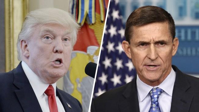Trama rusa: abogados de Trump negarían acusaciones de Flynn
