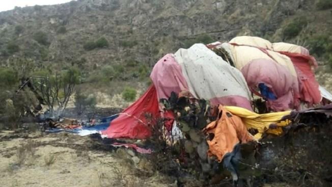 México: Dos muertos al caer globo aerostático