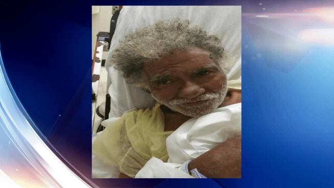 Buscan familiares de anciano hospitalizado