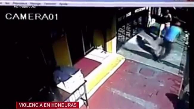 Captado en cámara: asesinato a sangre fría