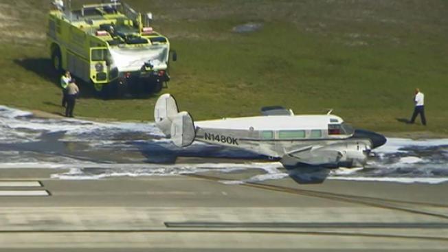 Avioneta se estrella e incendia en Fort Lauderdale
