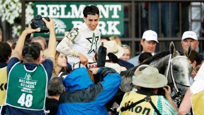 Jinete boricua gana el Belmont Stakes en Nueva York