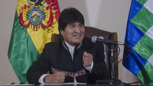 """Evo pide a México enfrentar juntos al """"imperio"""""""