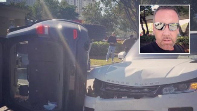 Carlos Ponce protagoniza aparatoso accidente de tránsito