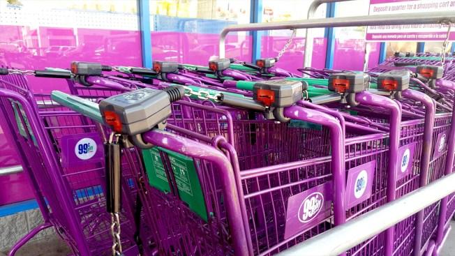 Ni los carritos de compra se libran de los pillos