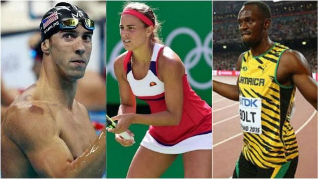 Usain Bolt y Michael Phelps hacen vibrar Río 2016
