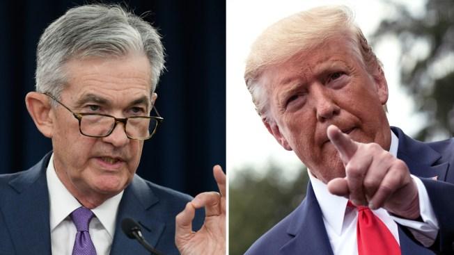 """Trump llama """"idiotas"""" a los integrantes de la Reserva Federal"""
