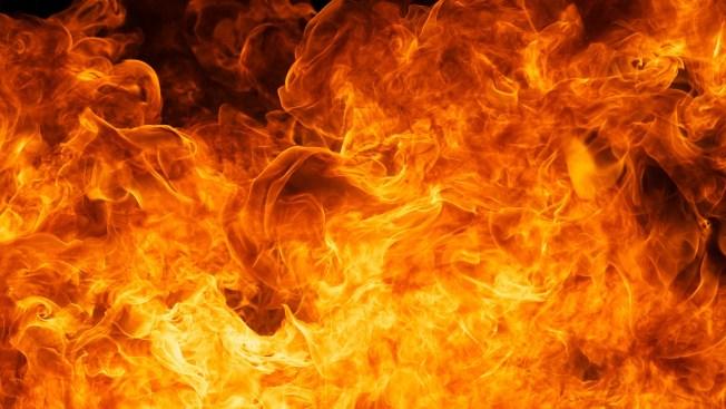 Auto se incendia en el expreso Martínez Nadal