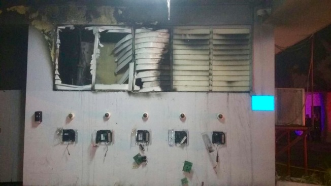 Se quema una oficina del DTOP en San Juan