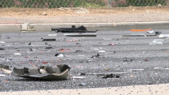 Varios heridos por accidente con auto volcado en Isla Verde
