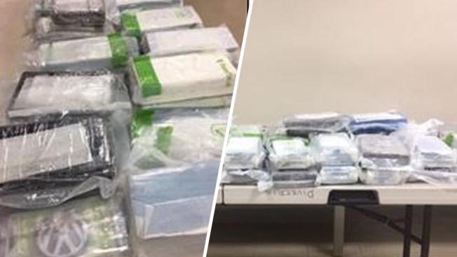 Policía incauta de 36 bloques de cocaína