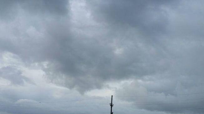 Miércoles lluvioso y ventoso