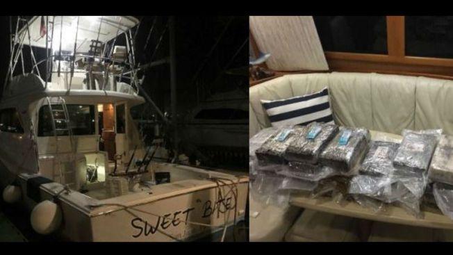 Interceptan cocaína oculta en un embarcación privada