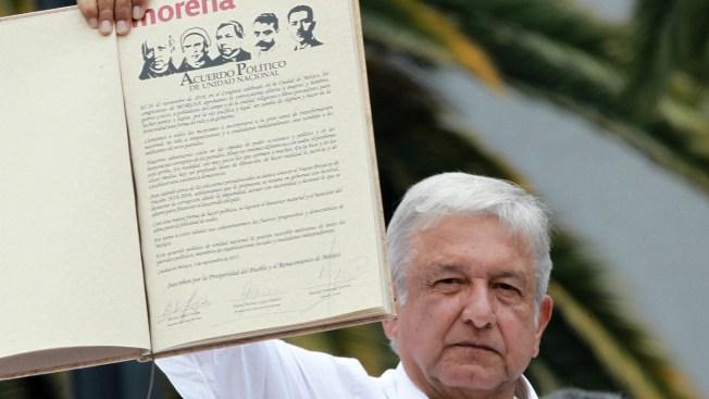 Político opositor presenta acuerdo envuelto en polémica