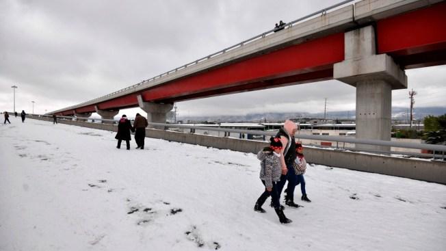 Nevada pone en alerta a millones en estados del norte
