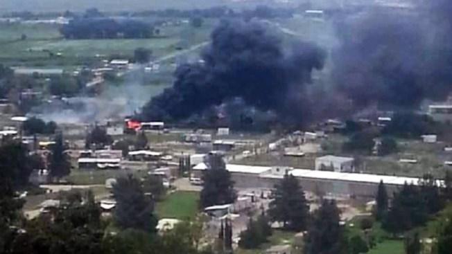 Tultepec: Dos explosiones en taller de pirotecnia