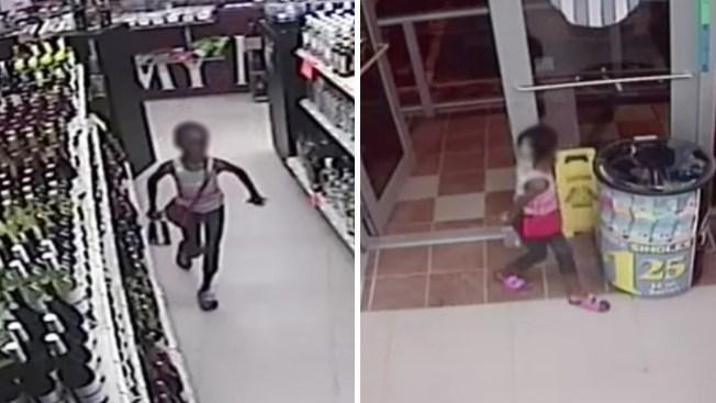 En Video: Niña roba botella de tequila en tienda