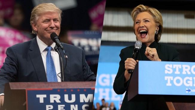 Nueva encuesta da tres puntos de ventaja a Clinton