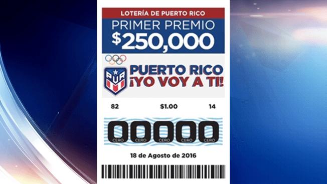 La Lotería celebra nuestros atletas en Río 2016 con billete especial