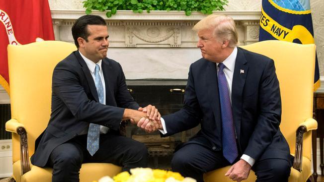 """Rosselló responde a Trump luego de llamar """"ineptos"""" a los políticos"""