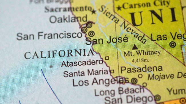Proponen dividir el estado de California en dos