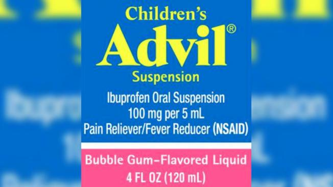 Retiran del mercado lote de Children's Advil