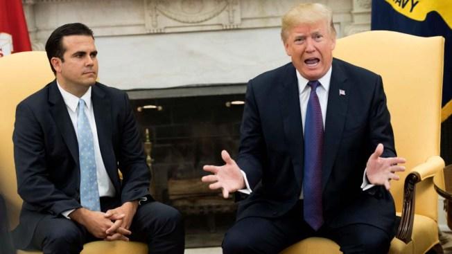 Rosselló consideraría demandar a Trump de no conceder fondos