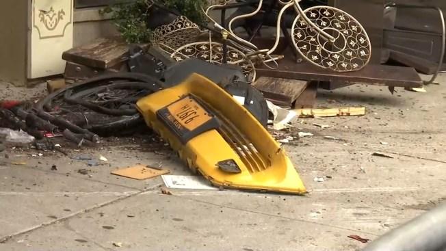 Taxi se estrella contra restaurante y deja 8 heridos en Manhattan