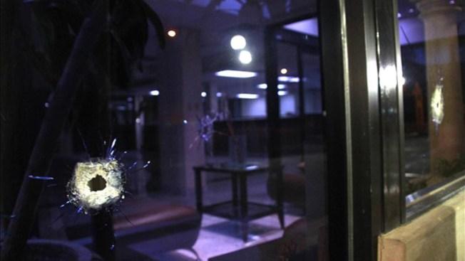 Residencia es impactada por proyectil de bala en Navidad