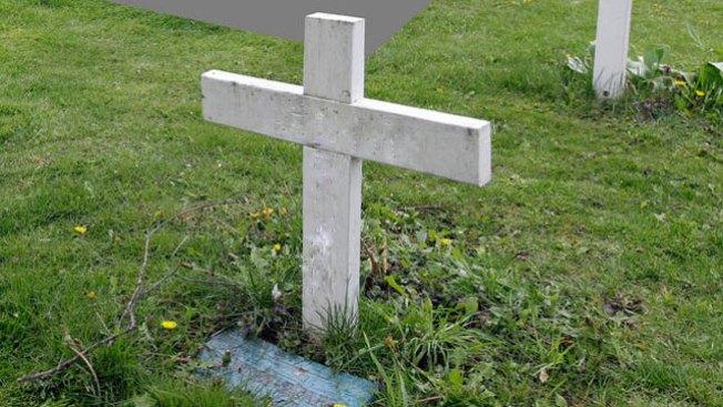 Roban tarjas y bronce en cementerio de Isabela