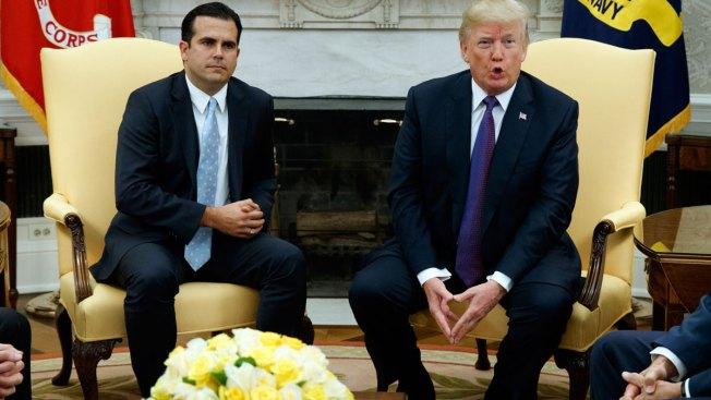 ¿Muro con fondos para PR? Rosselló pide que Trump se exprese sobre supuesto plan