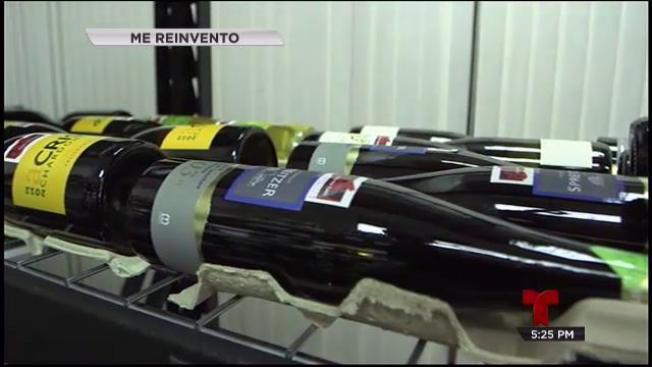 Se lanzó a la reinvención con el buen vino