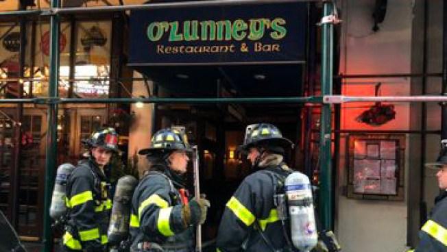 Reportan heridos durante incendio en Times Square