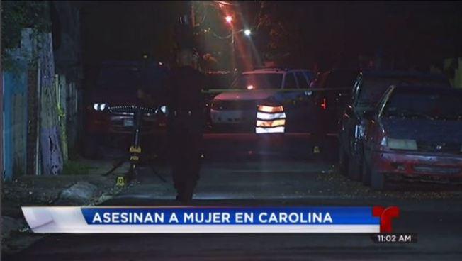 Asesinan a mujer en Carolina