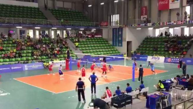 Fácil victoria sobre Guatemala en el voleibol masculino