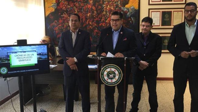"""Presupuesto recomendado por el gobernador es """"simbólico"""""""