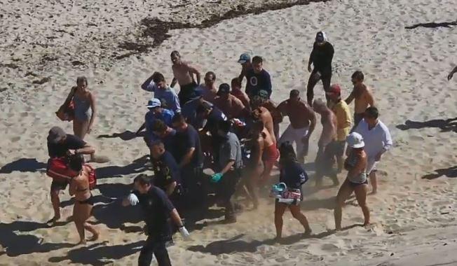 Sangriento día de playa: tiburón mata a un bañista