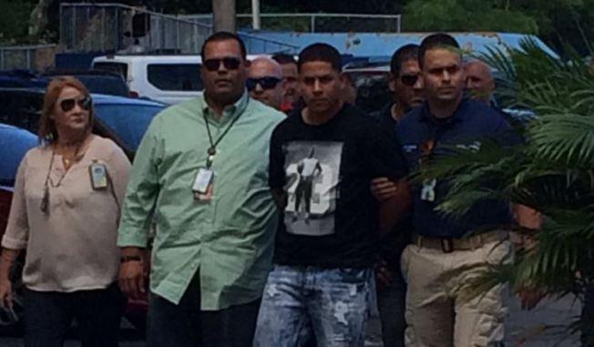 Llega al cuartel sospechoso de matar a la madre de Alba Reyes