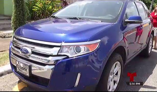Devuelven su auto gracias a Telemundo Responde