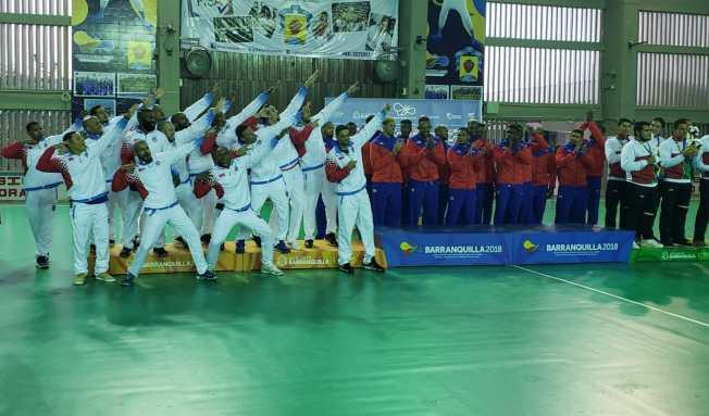 Cuba vence a Puerto Rico en la final del balonmano masculino