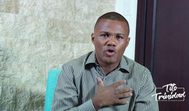 Tito Trinidad envía mensaje contra los disparos al aire