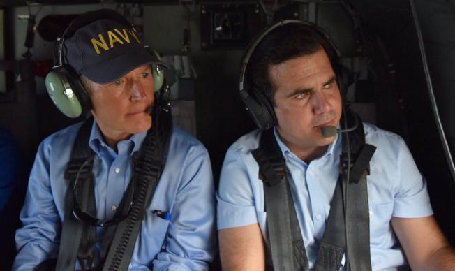 El gobernador de Florida promete ayuda para la isla