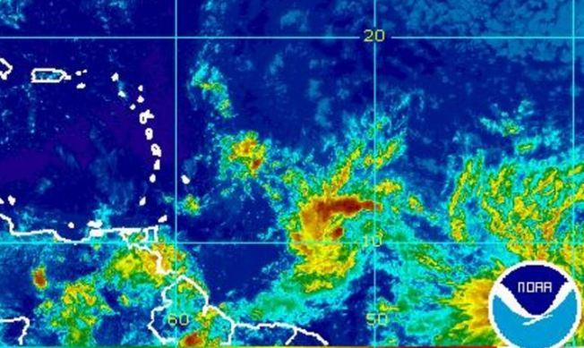 Alerta en el Caribe por la llegada de tormenta tropical