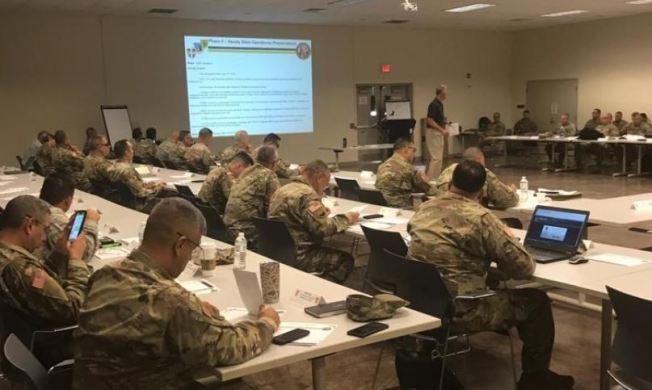 Guardia Nacional realiza simulacro de emergencia en caso de terremoto