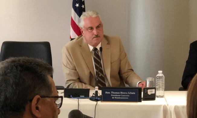 Rivera Schatz confirmará a Eligio Hernández como secretario de Educación
