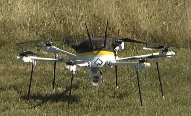 UPS prueba aviones no tripulados para enviar paquetes