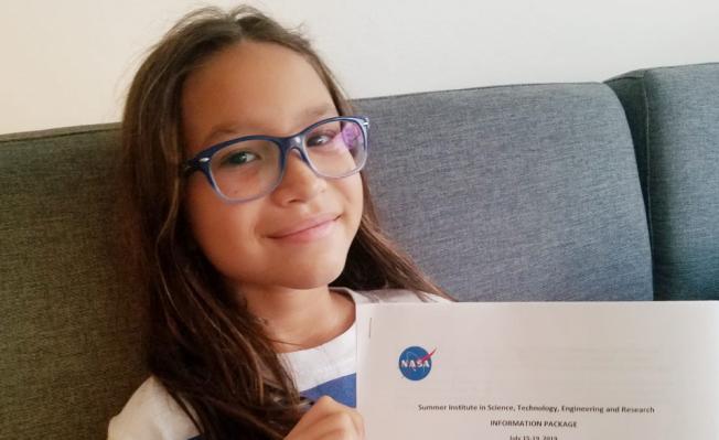 Niña boricua entre las 30 escogidas para un programa en NASA