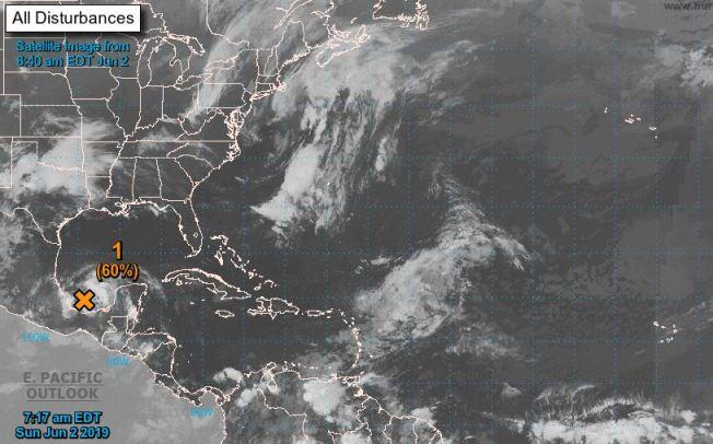 Posible desarrollo de la segunda tormenta de la temporada de huracanes