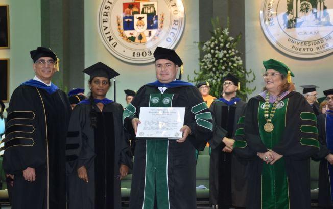 Celebran el primer doctorado en Ingeniería Eléctrica en el RUM